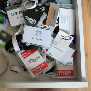 Desk drawer of shame